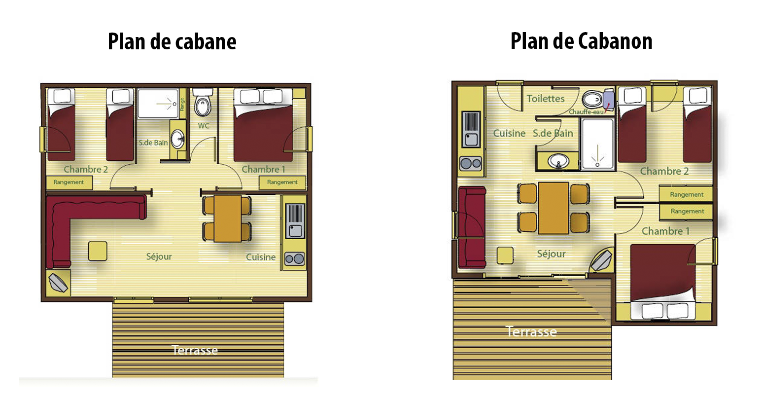 Plans of chalets joy studio design gallery best design for Home design 50m2