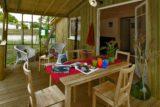 terrasse chalet bois Cabane