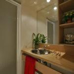 salle de bain Cabanon Camping La Cigale