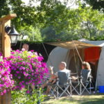 camping nature La Cigale Ares