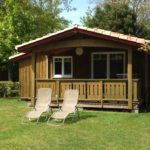 chalet bois cabane camping La Cigale Arès