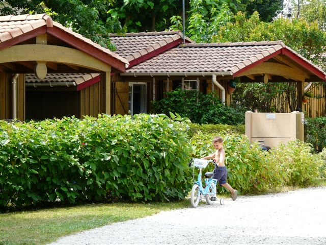 chalets la cigale ares camping bassin d'arcachon