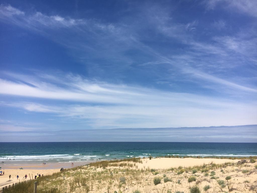 playa oceano atlantico vacaciones en Francia