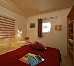 Bettzimmer Holzchalet Ares Arcachon