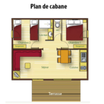 Plan Chalet Cabane