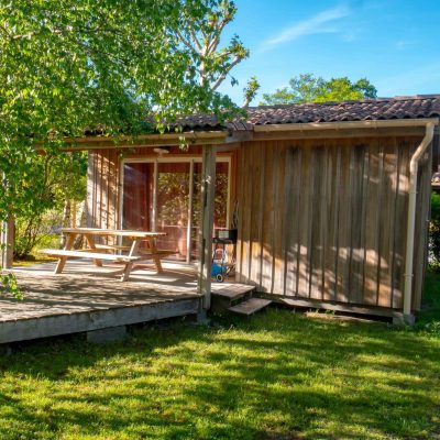 Cabanon Camping La Cigale Ares