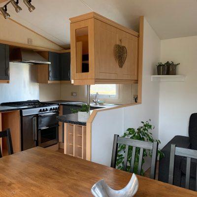 cuisine salon mobil home La Cigale